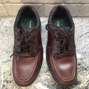 Thom McAn Brown Oxfords Shoes, Size 8
